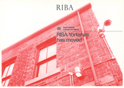 RIBA Moving Card