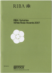 RIBA White Rose Awards 2007