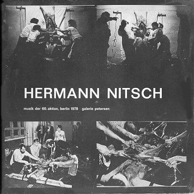 Hermann Nitsch Musik Der 60 Aktion Berlin 1978 Galerie Petersen