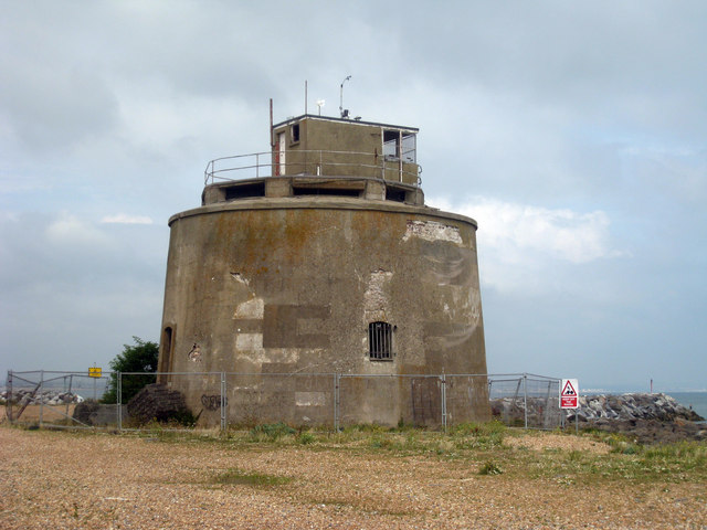 Martello_Tower_number_66,_Sovereign_Harbour_-_geograph.org.uk_-_1433060