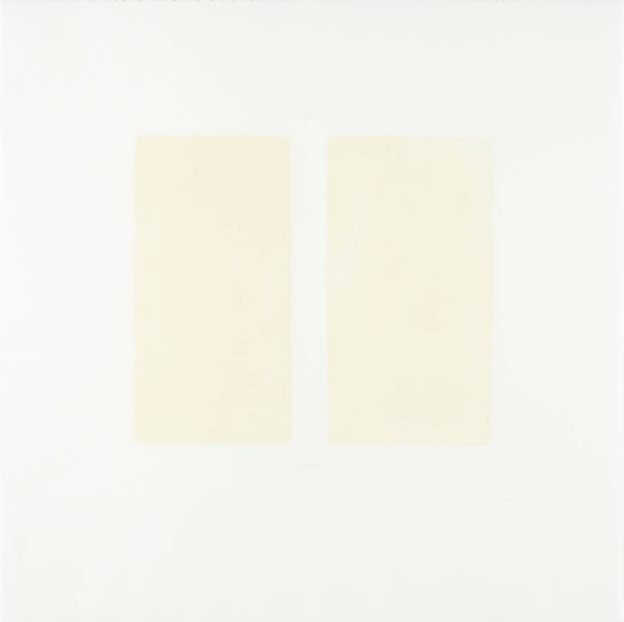 [no title] 1972 by Robert Ryman born 1930