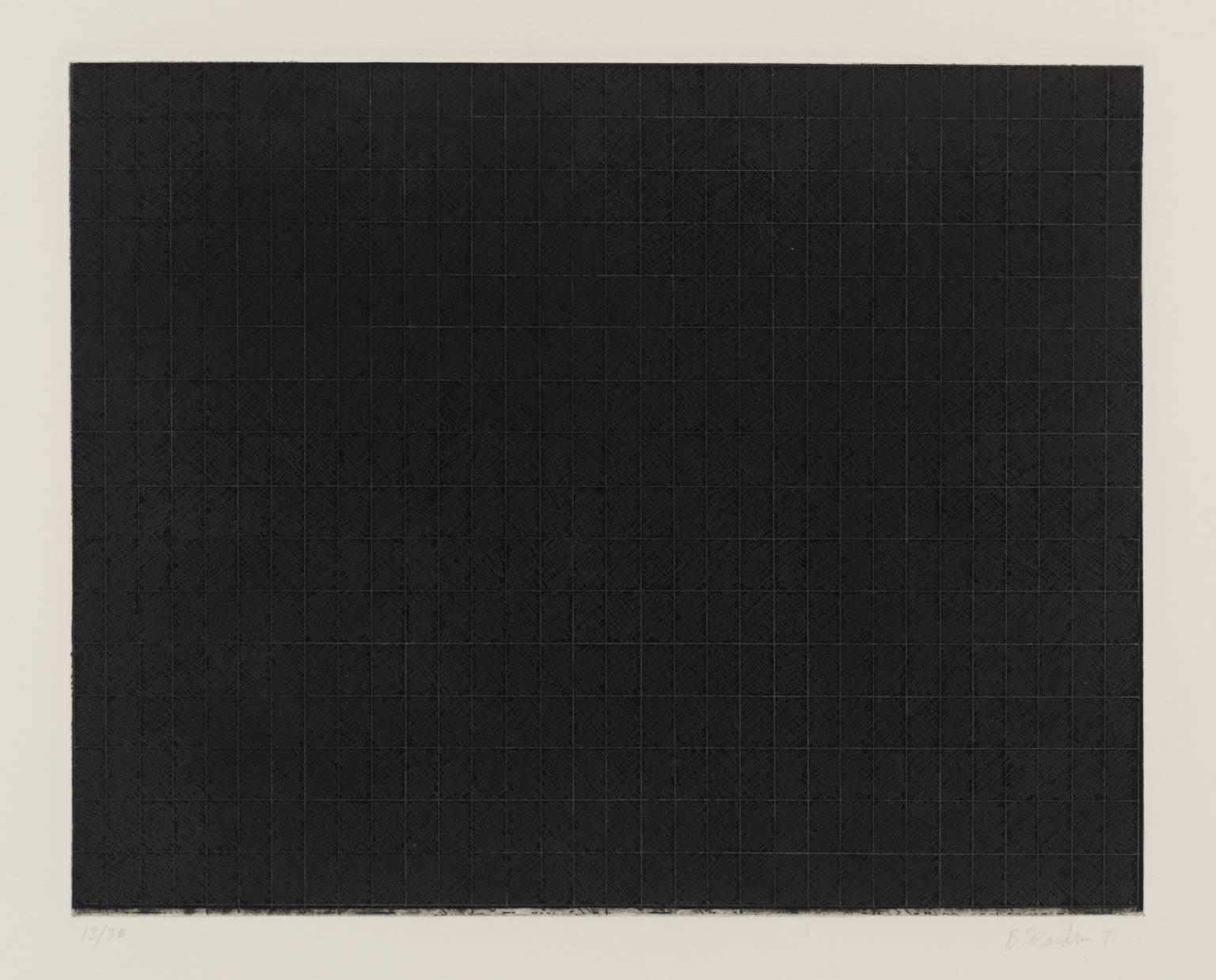 [no title] 1971 by Brice Marden born 1938