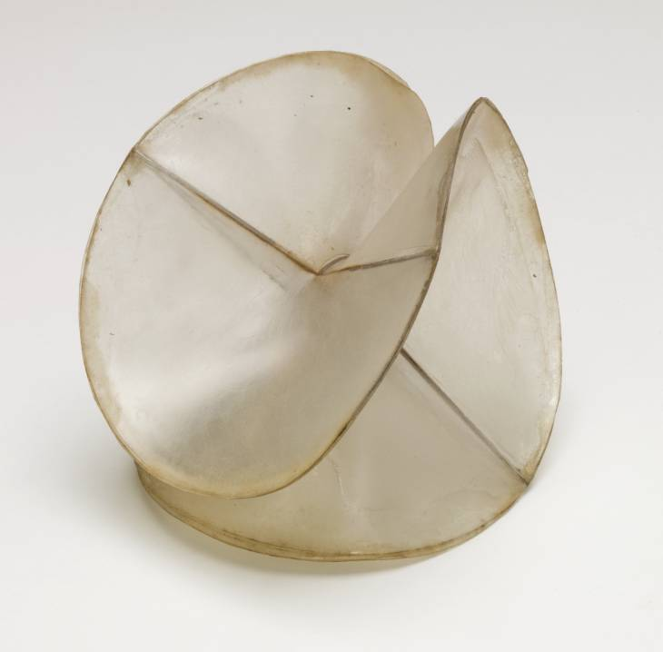 Model for 'Spheric Theme' circa 1937 by Naum Gabo 1890-1977