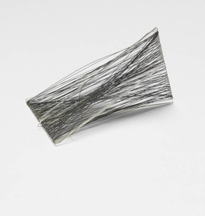 Linear Form (possible part of the model for the First Bijenkorf Project) circa 1954 by Naum Gabo 1890-1977