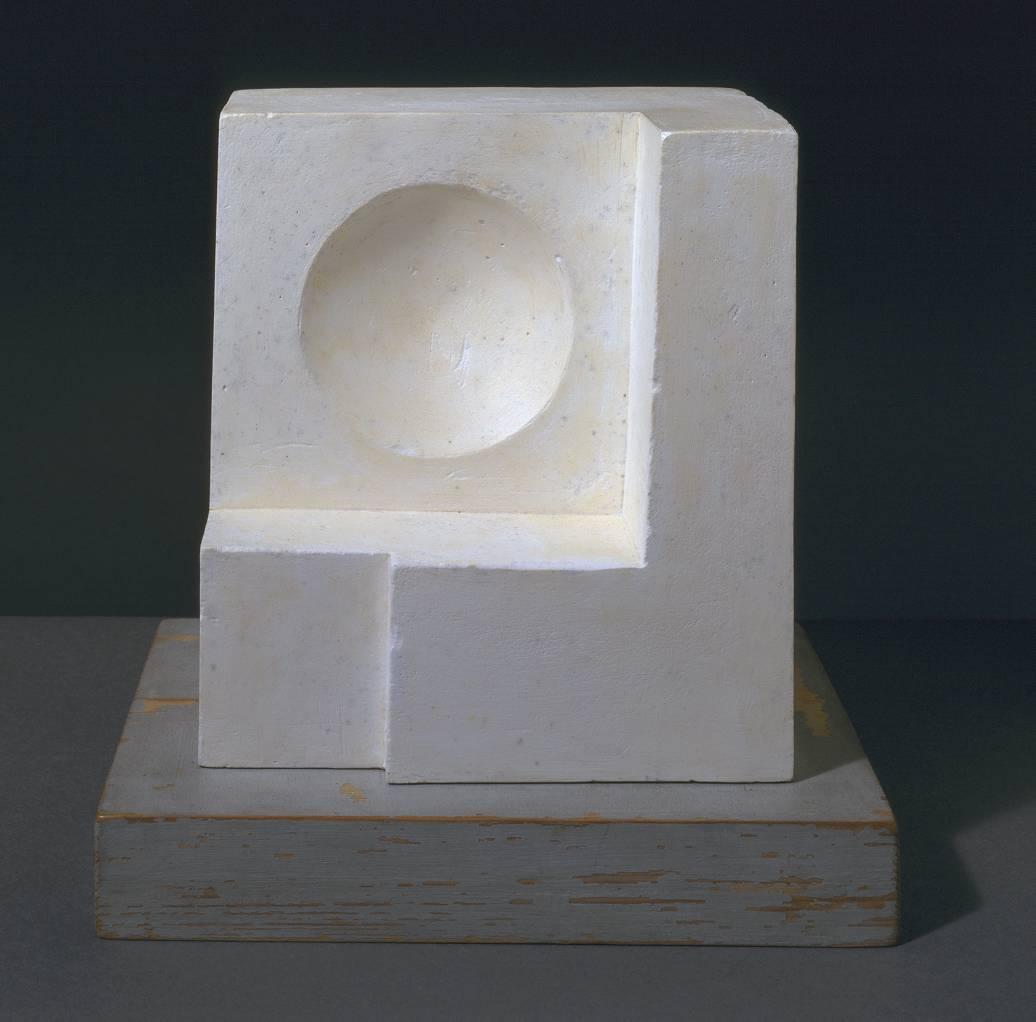 1936 (white relief sculpture - version 1) 1936 by Ben Nicholson OM 1894-1982