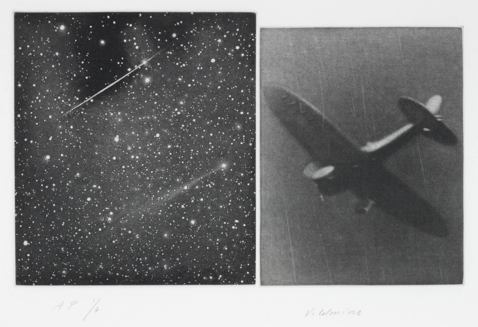 Concentric Bearings B 1984 by Vija Celmins born 1938