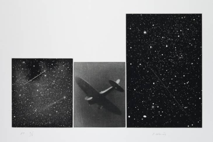 Concentric Bearings C 1984 by Vija Celmins born 1938