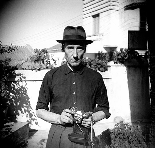 Unknown Photographer, Burroughs in the Villa Mouniria Garden, Tangier