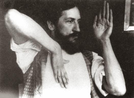 Piet+Mondriaan,+Posing+for+the+Phrenologist+A.+Waldenburg,+1909+(via+Patty+Struik)