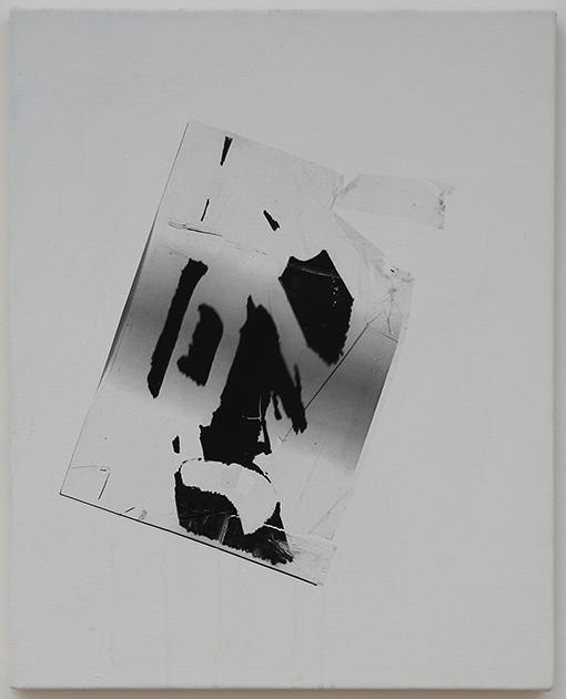 glare, 2013, transfer on canvas, 41x31cm copy