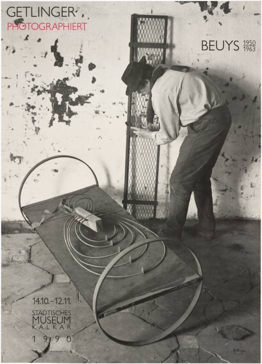 Beuys 1950 - 1963. Getlinger Photographiert, Stadtisches Museum Kalkar 1990 by Joseph Beuys 1921-1986
