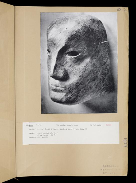 Page 10 1929 by Dame Barbara Hepworth 1903-1975