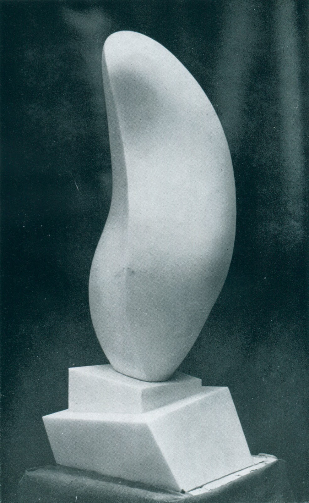 12. Cristal et feuille (leaf on crystal), 1954
