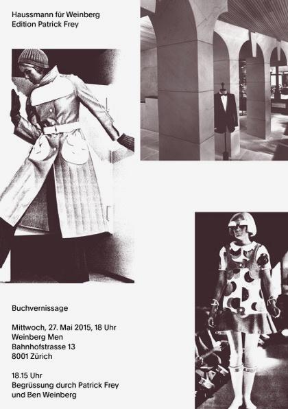 image-Book Launch- «Haussmann für Weinberg»