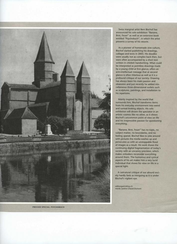 image-Lodown Magazine- «Pressed Special- Psychobuch – Beni Bischof»