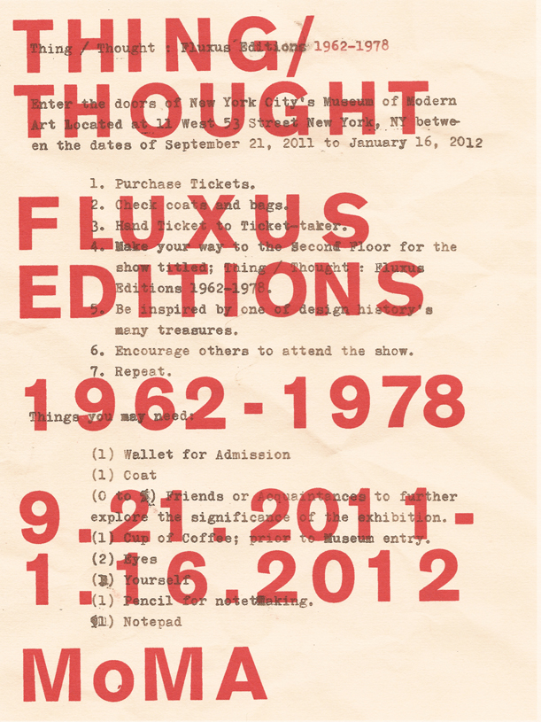 fluxus.thing-thought