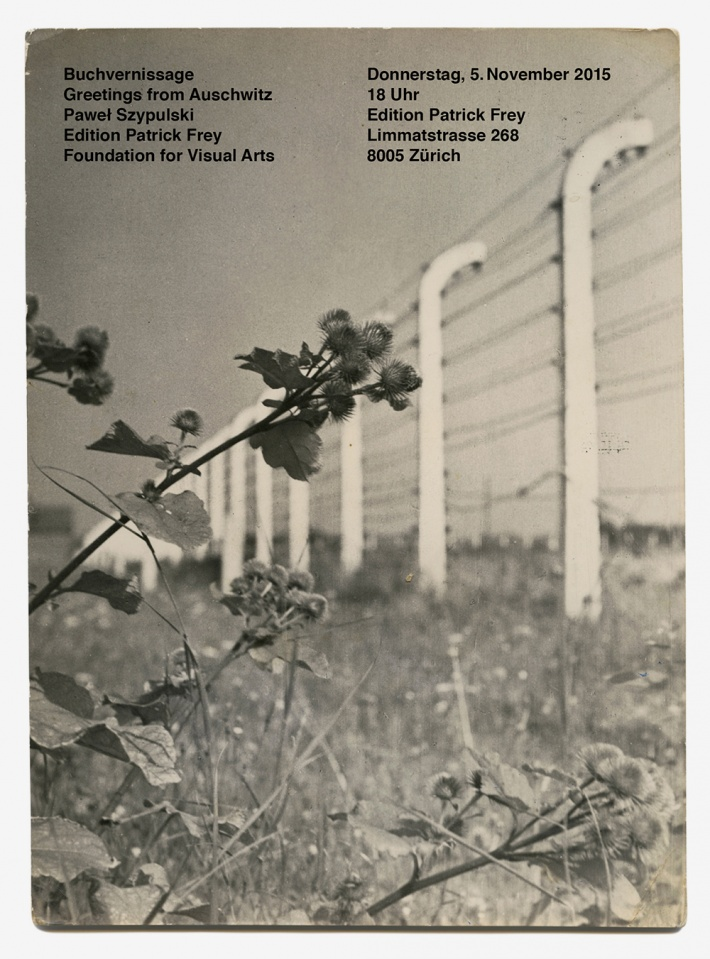 image-Buchvernissage- «Greetings from Auschwitz»