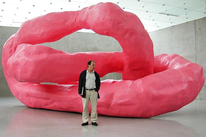 franz-west-drama-modell-kunsthaus-bregenz-2001